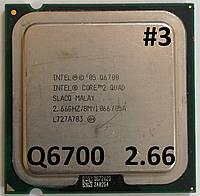 Процессор ЛОТ#3 Intel® Core™2 Quad Q6700 G0 SLACQ 2.66GHz 8M Cache 1066 MHz FSB Socket 775 Б/У, фото 1