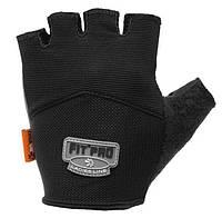 Перчатки для тяжелой атлетики Power System FP-06 L Black, фото 1