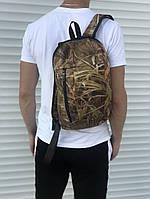 Мужской городской рюкзак коричневый, фото 1