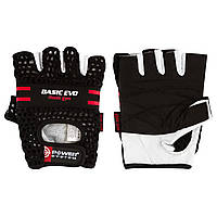 Перчатки для фитнеса и тяжелой атлетики Power System Basic EVO PS-2100 S Black/Red Line, фото 1