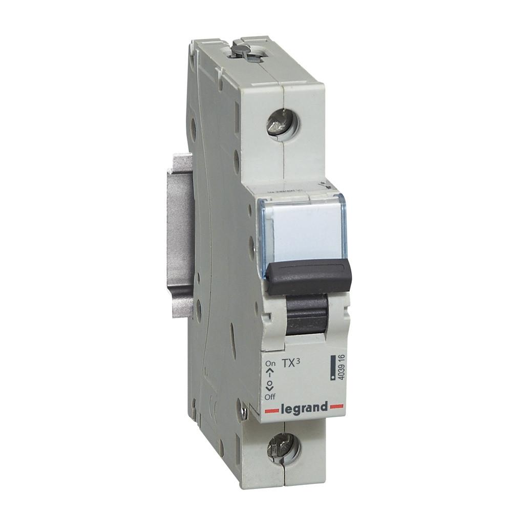 TX³ Автоматичний Вимикач C 32A 1П 6kA