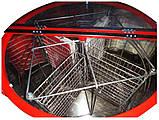 Медогонка 4-х рамкова нержавіюча автоматична, фото 2
