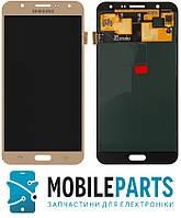 Дисплей для Samsung J700H | DS Galaxy J7 | J700F | J700M с сенсорным стеклом (Золотой) TFT подсветка оригинал