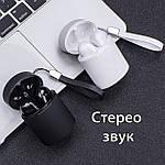 Беспроводные наушники блютуз гарнитура Bluetooth наушники с Wi-Pods X10 зарядный кейс Белые, фото 4