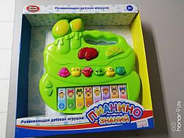 Пианино детское животные