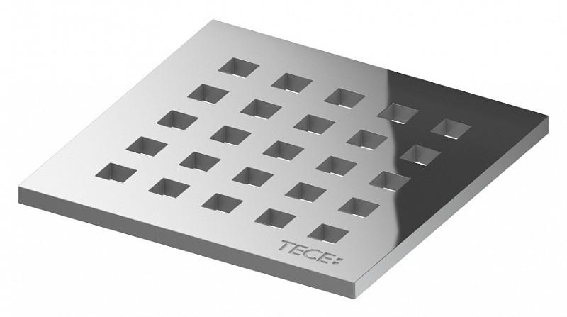 Декоративна решітка 100 мм quadratum TECE drainpoint S 🇩🇪