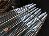 Геошуруп ПИЛЛАР - FH 76x3x3000 мм t 1050 мм горячеоцинкованная фундаментная свая, фото 2