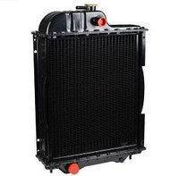 Радиатор водяной МТЗ-80 (алюмин.) (4-х рядный) + крышка + аморт. х 2 шт (метал бачки)