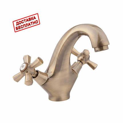 Смеситель для раковины Q-tap QT Liberty ANT 161, фото 2