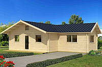 Дом деревянный из профилированного бруса 7.6х10. Скидка на домокомплекты на 2020 год
