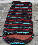 Спальный мешок (0/+8/+15) туристический спальник для похода, для теплой погоды!, фото 3
