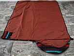 Спальный мешок (0/+8/+15) туристический спальник для похода, для теплой погоды!, фото 4
