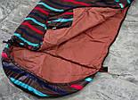 Спальный мешок (0/+8/+15) туристический спальник для похода, для теплой погоды!, фото 5