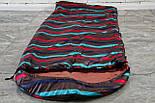 Спальный мешок (0/+8/+15) туристический спальник для похода, для теплой погоды!, фото 6