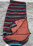 Спальный мешок (0/+8/+15) туристический спальник для похода, для теплой погоды!, фото 9