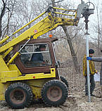 Геошуруп ПИЛЛАР - FH 76x3x3000 мм t 1050 мм горячеоцинкованная фундаментная свая, фото 6