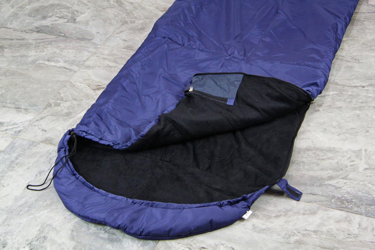 Армейский спальный мешок (до -20) спальник туристический для похода, для холодной погоды!