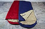 Туристический спальный мешок (до-2). Спальник туристический для похода весна и осень, фото 9