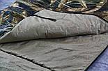 Широкий спальный мешок (камуфляжный спальник, до -2/+14, фото 9