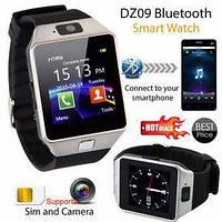 Умные смарт часы Smart watch DZ09 для андроида звонки, смс, интернет