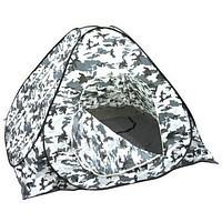 Палатка зимняя (зима) 2.5 Х 2.5 для зимней рыбалки, рыболовная (отстегивается клапан с низу под лунку)