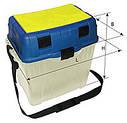 Органайзер, контейнер, ящик, для зимней рыбалки Aquatech 2870 ремень для транспортировки, фото 2