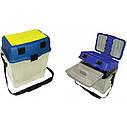 Органайзер, контейнер, ящик, для зимней рыбалки Aquatech 2870 ремень для транспортировки, фото 4