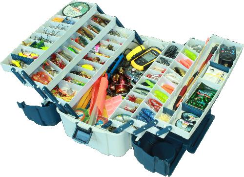 Контейнер, ящик, органайзер, коробка, лоток для хранения снастей 6 полок AQUATECH 2706 удобная ручка