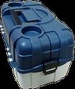 Контейнер, ящик, органайзер, коробка, лоток для хранения снастей 6 полок AQUATECH 2706 удобная ручка , фото 5