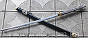 Японская катана самурай, самурайская Katana меч, деревянные ножны, сабля (дайто) дракон ниндзя, фото 3