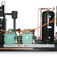 Холодильна компресорна cтанція на базі  2-х компресорів:Bitzer 4CC-6,2y 2004 р.в. з щитом управління
