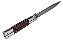 Балисонг, нож бабочка, тренировочное оружие для трюков (флипперов), деревяная рукоять, филиппинский нож, фото 2