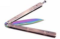 Хамелеон балисонг, нож бабочка, тренировочное оружие для трюков (флипперов), филиппинский нож