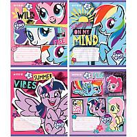 Тетрадь Kite My Little Pony 12 листов клетка LP19-232