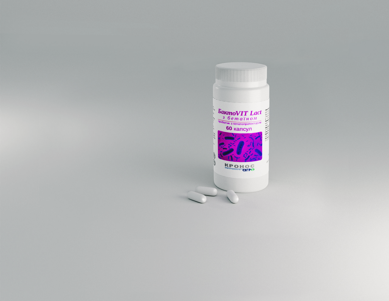 БактоVIT Lact с бетаином №60, пробиотик и гепатопротектор