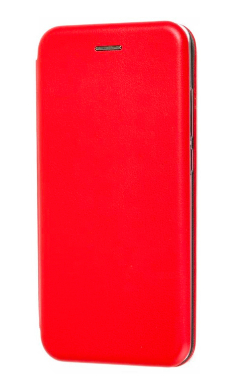 Чехол (книжка) премиум для Xiaomi MI 9 SE красная