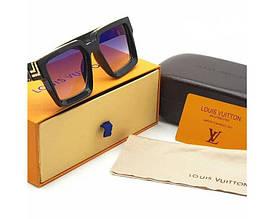 Мужские солнцезащитные очки с поляризацией в стиле Louis Vuitton (0993)