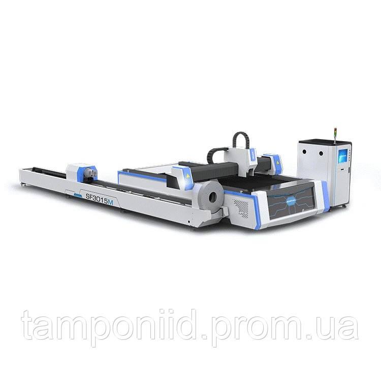 Волоконный лазерный станок для резки листового металла и трубы