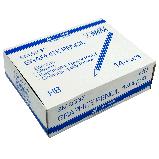 Карандаш графитовый Buromax JOBMAX HB, желтый, без резинки, фото 3