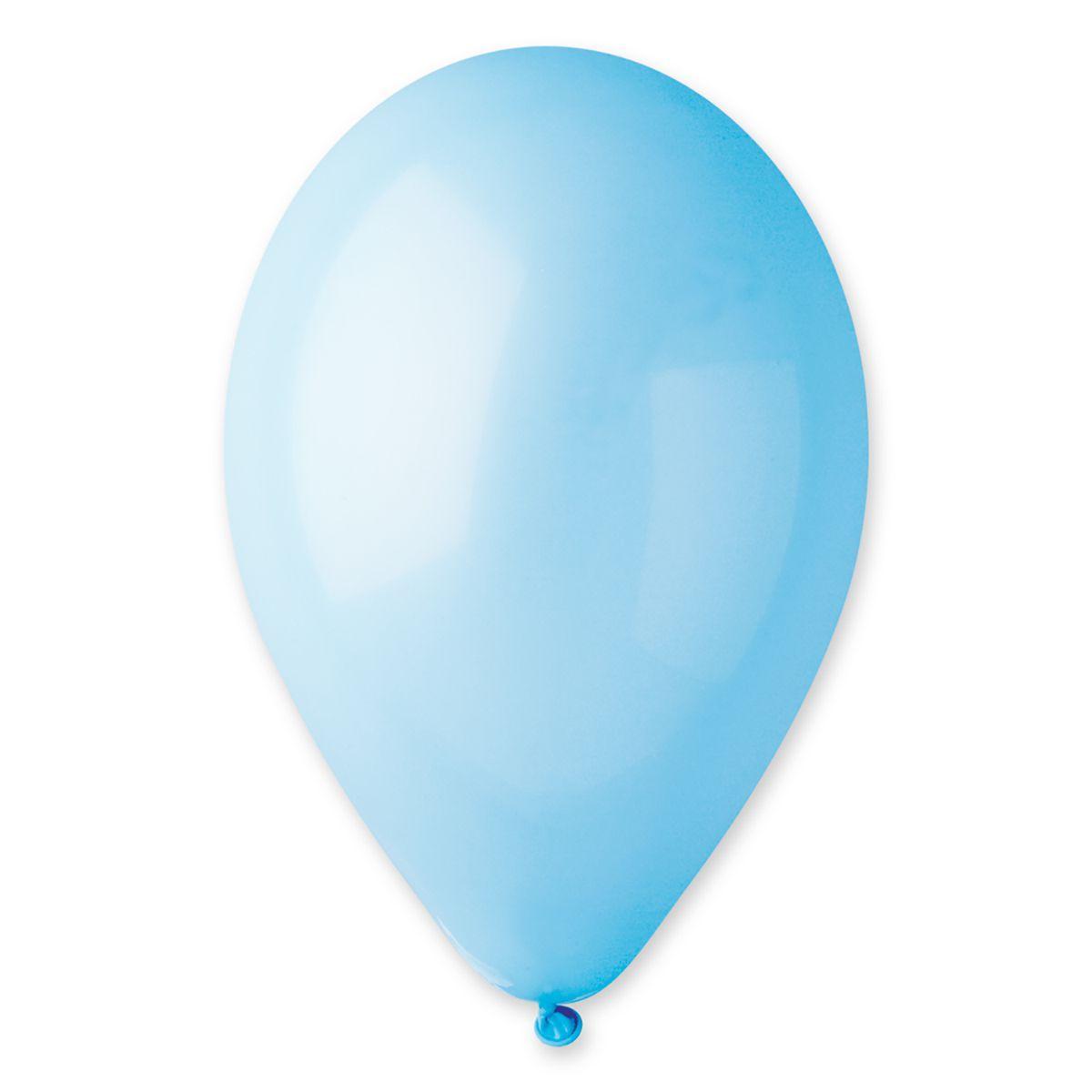 """Кулі 10""""/72 пастель блакитний матовий (baby blue) 100 шт"""