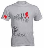 Брендовая футболка для детейлера Rupes BigFoot T-Shirt Evolution Grey