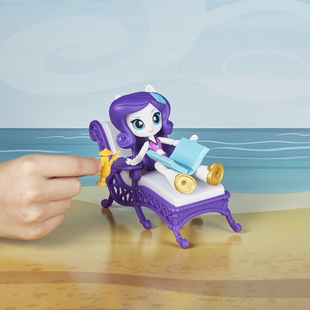 My Little Pony Rarity Relaxing Beach Lounge Playset