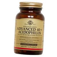Пробиотики, Advanced 40+ Acidophilus, Solgar, Без Молочных Продуктов, 60 Капсул