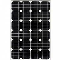Солнечная батарея Perlight Solar PLM-050M 50Вт 12В, фото 1