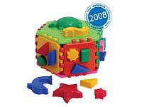 """Развивающая игрушка куб-сортер Умный малыш """"Гиппо"""""""