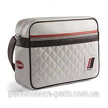 Наплечная сумка Audi Heritage Messenger Bag, Offwhite, артикул 3151800800