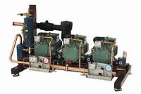 Холодильна компресорна станція на базі  2-х компресорів: 6H-25.2y.  2006 р.в.З щитом управління.