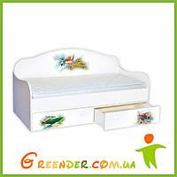 """Кровать детская диванчик """"Самолет"""""""