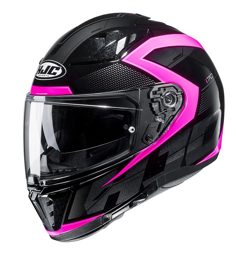 Мотошолом Hjc i70 Asto (Black Pink)