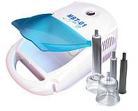 Аппарат для вакуумного массажа МВТ-01 в комплекте 10 насадок